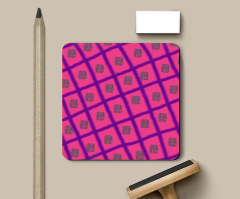 simple pattern Coasters | Artist : Pallavi Rawal