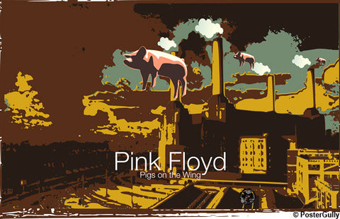 Brand New Designs, Pigs On The Wing Artwork | Artist: Devraj Baruah, - PosterGully - 1