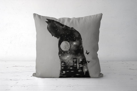 Batman Cushion Covers | Artist : Sukanya Chakraborty