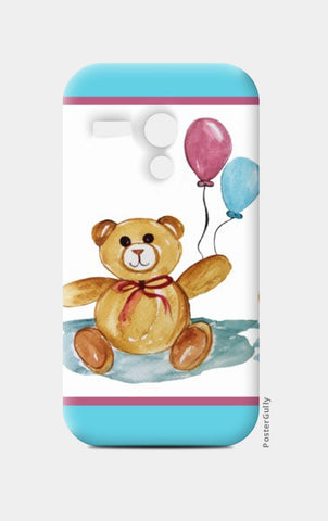 Moto G Cases, Cute Teddy With Balloons Moto G Cases | Artist : Singhroha Art, - PosterGully