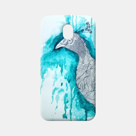 Moto G3 Cases, peacock, illustration  Moto G3 Cases | Artist : Agyaat Naadji, - PosterGully