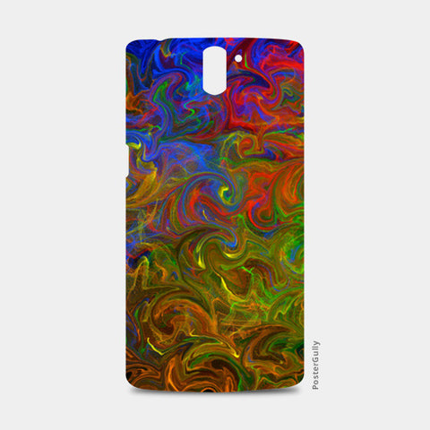 Rhythm of colors One Plus One Cases | Artist : Amar Singha