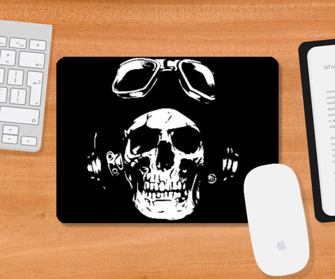 Mousepad, Black Skull Mousepad | Md. Hafiz Shaikh, - PosterGully