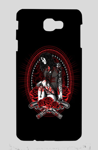Woman With Tattooed Hand Samsung J7 Prime Cases | Artist : Inderpreet Singh