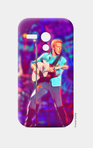 Chris Martin from Coldplay Moto G Cases | Artist : Ayushi Jain