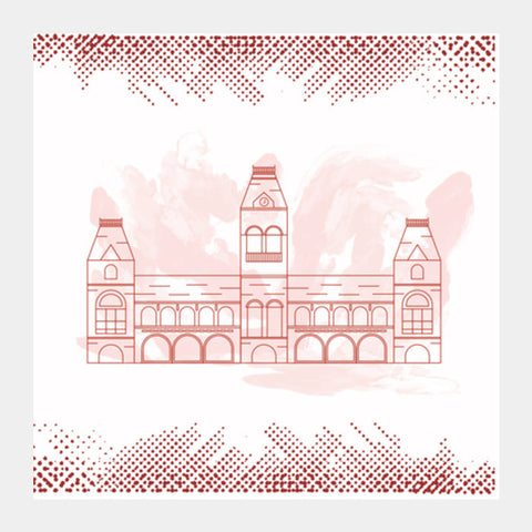 Chennai Central Square Art Prints PosterGully Specials