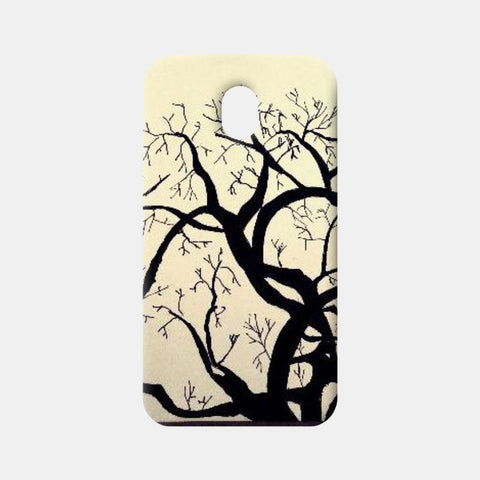 Moto G3 Cases, Solitary Tree Moto G3 Cases | Artist : Shireen Gadru, - PosterGully