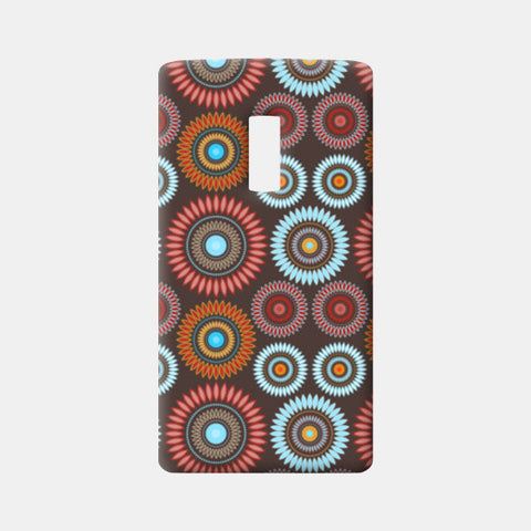 Flower Mandala Seamless Pattern One Plus Two Cases | Artist : Designerchennai