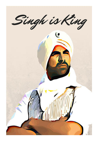 Wall Art, Singh is King Wall Art | Artist : Delusion, - PosterGully