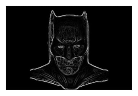 BATMAN  Wall Art  | Artist : Ayush Yaduv