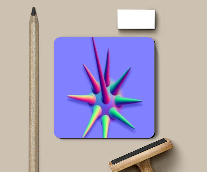 Coasters, Colorful 3D Cactus Coasters | Artist : CK GANDHI, - PosterGully