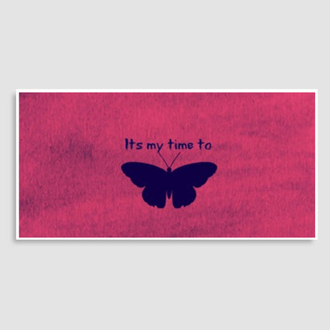 Its my time to butterfly Door Poster | Artist : Pallavi Rawal