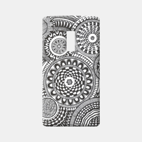 Prints in Circles One Plus Two Cases | Artist : Aniket Mitra