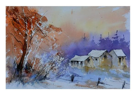 PosterGully Specials, Peaceful landscape Wall Art  | Artist : pol ledent, - PosterGully