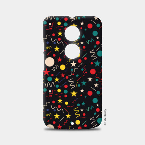 Seamless abstract pattern with geometric shapes Moto X2 Cases | Artist : Designerchennai