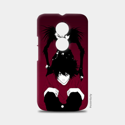 "death note ""L"" Moto X2 Cases 