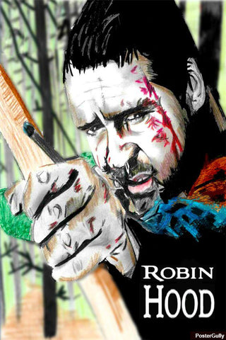 Brand New Designs, Robin Hood Artwork | Artist: Nishant D'souza, - PosterGully - 1