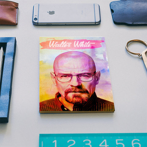 Walter White | Breaking Bad Notebook | Artist : Gub Gub
