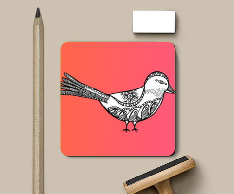 Bird Patterns Coasters | Artist : Amulya Jayapal