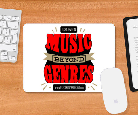 Mousepad, MUSIC BEYOND GENRES Mousepad | DJ NYK, - PosterGully