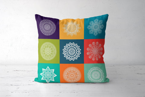 Multi Pattern Design Cushion Covers | Artist : Inderpreet Singh