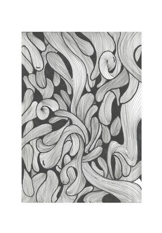 abstract doodle Wall Art | Artist : Raj Patel