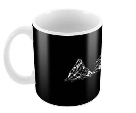 Ice-waves Coffee Mugs | Artist : Shilpi Mishra