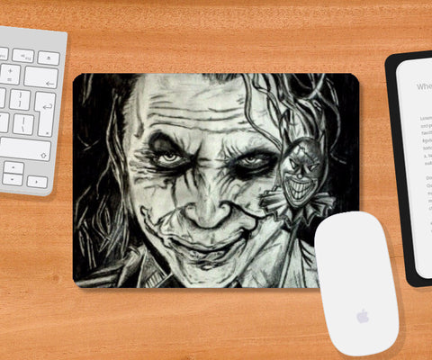 Mousepad, Joker Sketch Mousepad | Artist: Abhinav Moona, - PosterGully