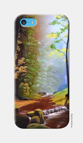 Forest Oil Painting iPhone 5c Cases | Artist : Rahul Tanwar