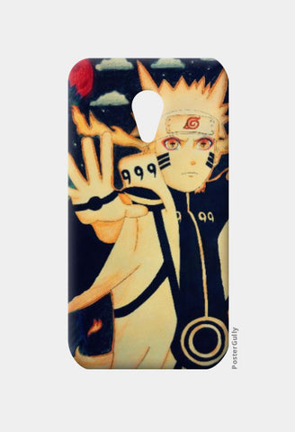 Moto G2 Cases, Naruto-Blood moon | Artist:Abhilash Katta, - PosterGully