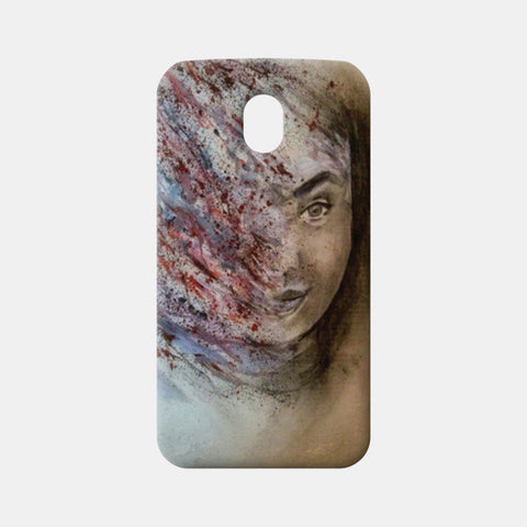 Moto G3 Cases, Woman Abstract  Moto G3 Cases | Artist : Sukanya Chakraborty, - PosterGully