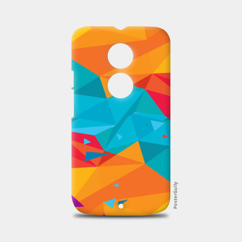 Moto X2 Cases, Color Triangle Moto X2 Cases | Artist : Manju Nk, - PosterGully