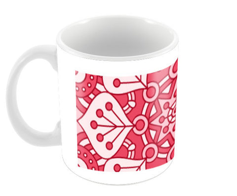 Boho Design Coffee Mugs | Artist : Ayushi Jain