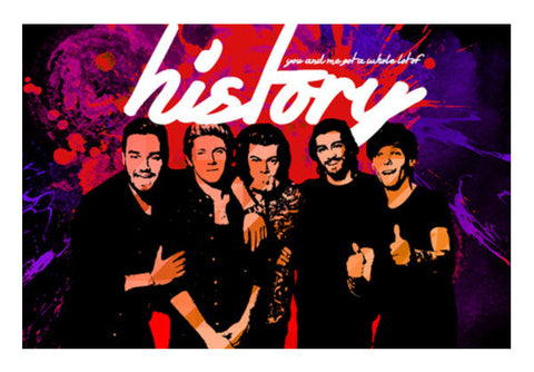 Wall Art, One Direction Memorabilia Wall Art  | Artist : Rashi Srivastava, - PosterGully