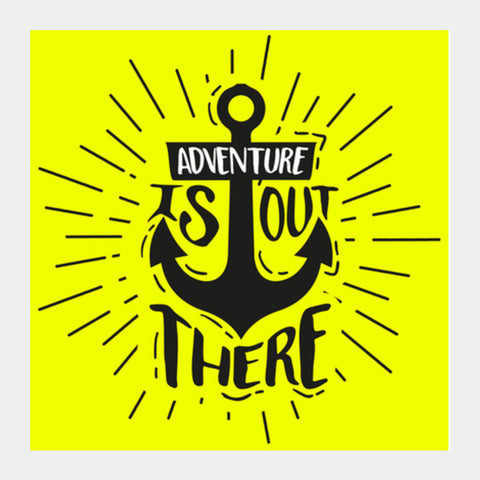 Adventure Square Art Prints | Artist : Harpreet Kaur