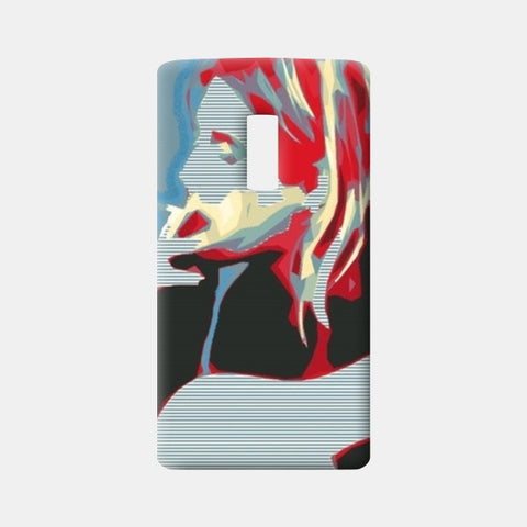 One Plus Two Cases, Curt Kobain One Plus Two Cases | Artist : Deepa Mehra, - PosterGully