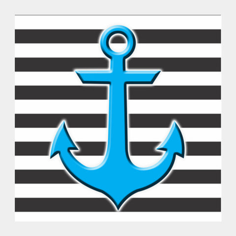 Stripes Anchor Square Art Prints PosterGully Specials