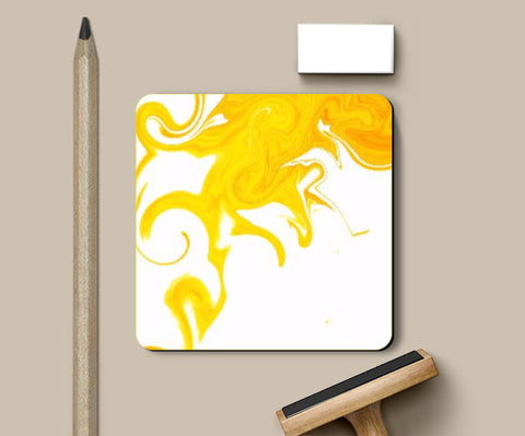Coasters, Yellow Coaster | Anushree Jaiswal, - PosterGully