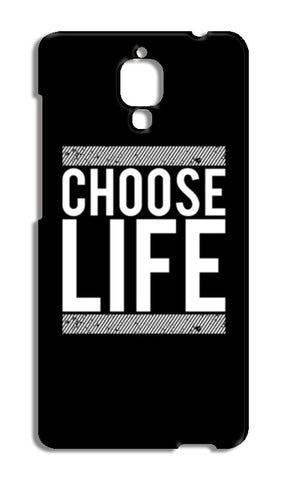 Choose Life Xiaomi Mi-4 Cases | Artist : Designerchennai