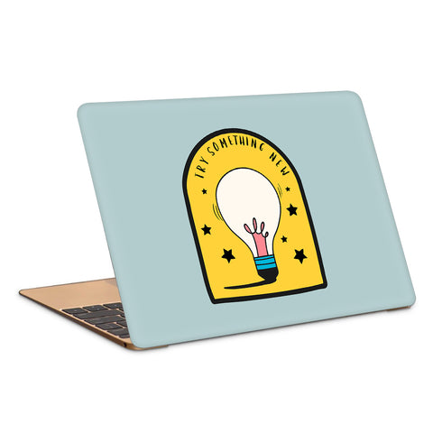 Try Something New Artwork Laptop Skin