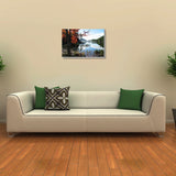 Canvas Art Prints, Echoes From The Guitar Stretched Canvas Print, - PosterGully - 3