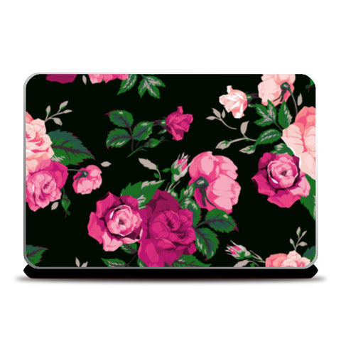 vector rose art  Laptop Skins | Artist : Fariya Arts