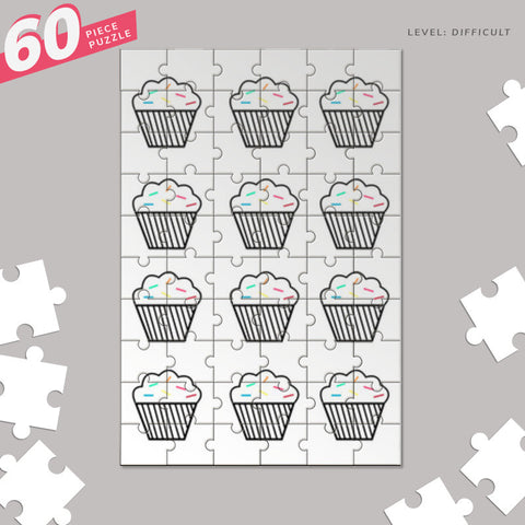 Hey there cupcake Jigsaw Puzzles | Artist : mytablecreations