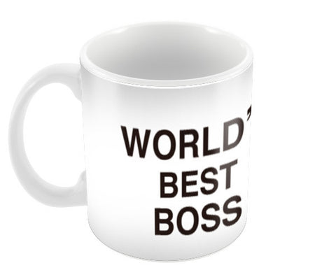 World's Best Boss | The Office | Steve Carell Coffee Mugs | Artist : Sandeep Narayan