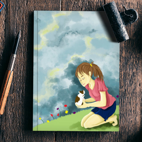 cute pets Notebook | Artist : Monami Debnath