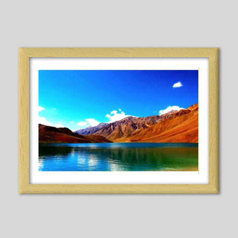 Life Is Beautiful Premium Italian Wooden Frames | Artist : Pallab Bhowmik