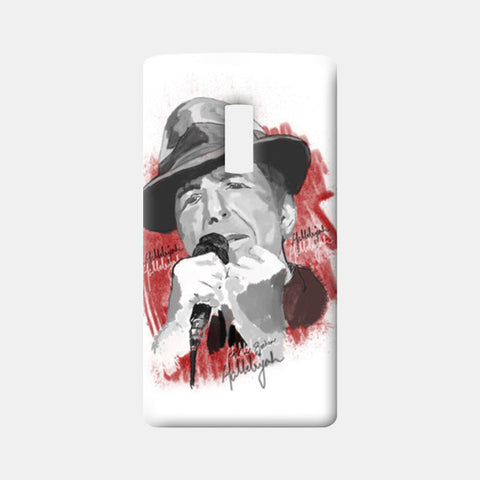Leonard Cohen - Hallelujah One Plus Two Cases | Artist : Deepak Gupta