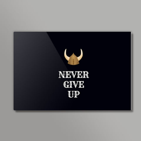 Never Give Up Metal Prints | Artist : Pallavi Rawal