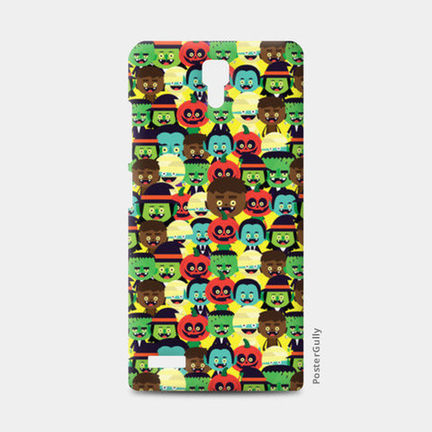 Redmi Note Cases, HALLOWEEN MONSTERS Redmi Note Case | Mona Singh, - PosterGully