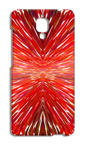 Abstract Red Burst Modern Design Xiaomi Mi-4 Cases | Artist : Seema Hooda